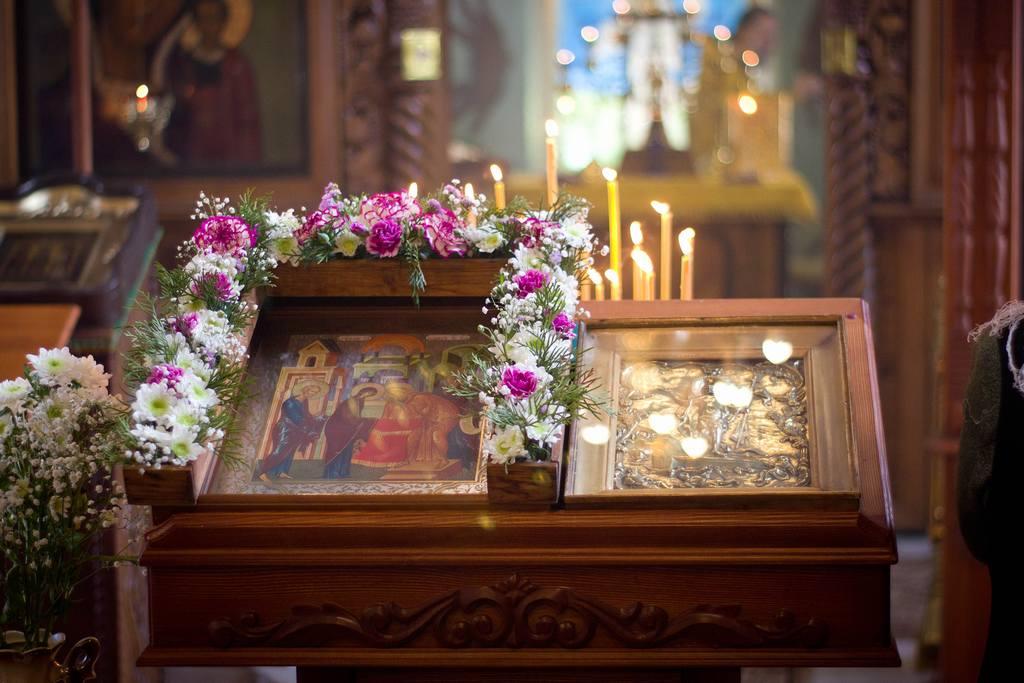 Фото с Праздничного Богослужения